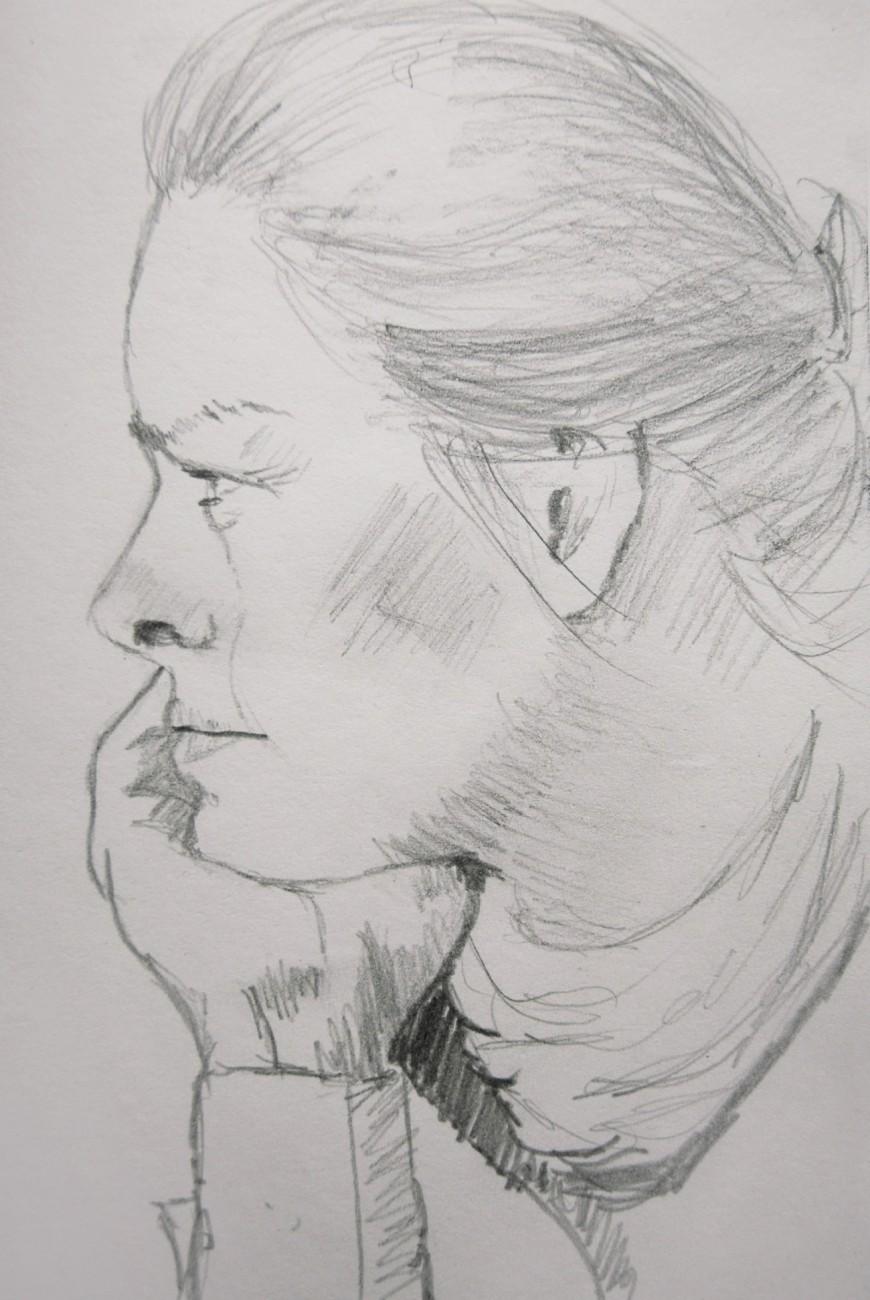 Kerstin im Profil