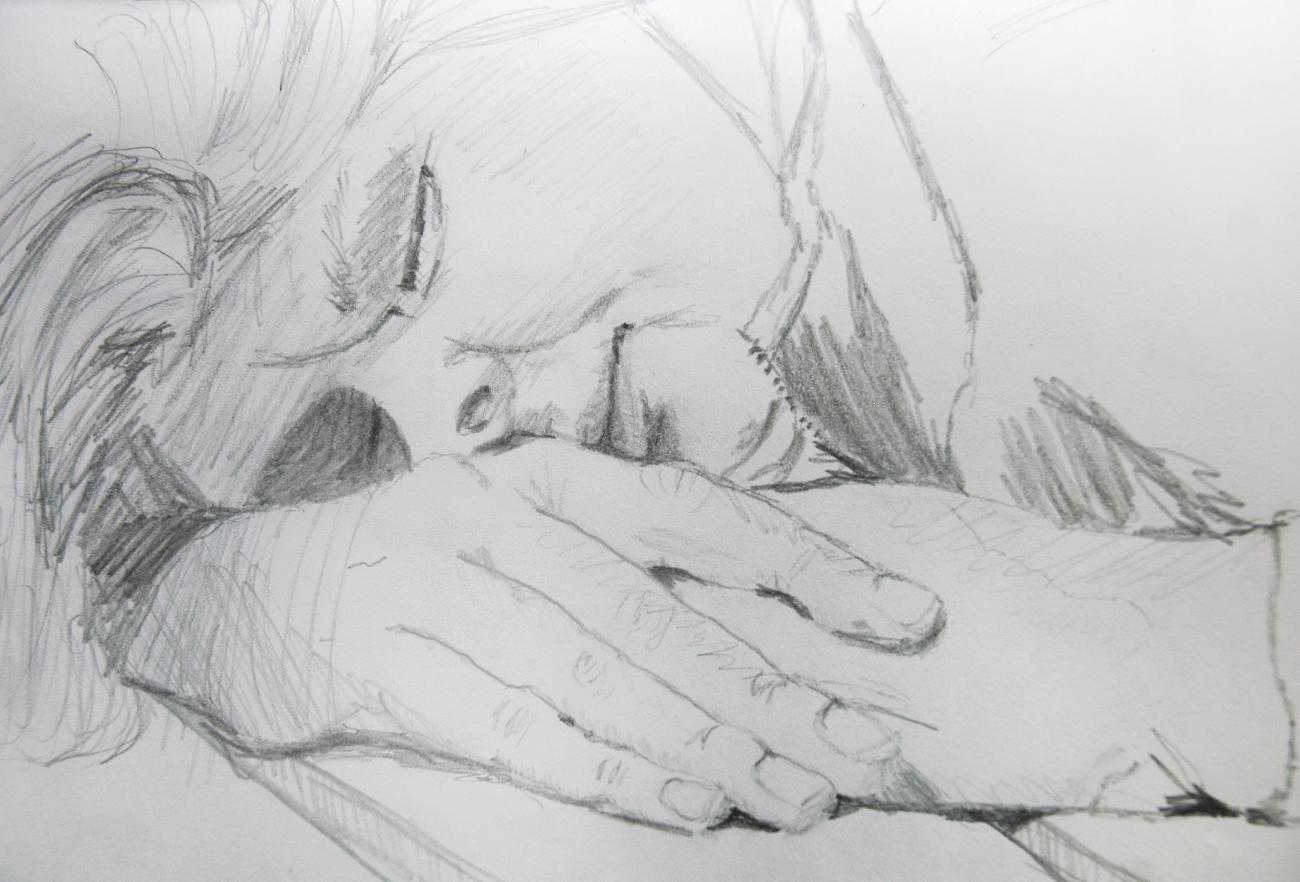 Die Schlafende