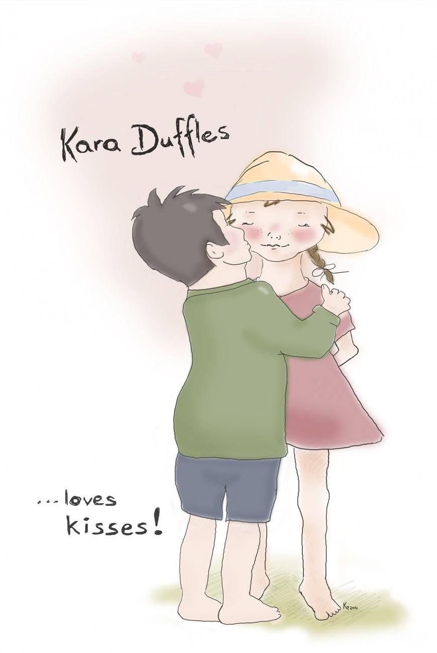 Kara Duffles Kisses