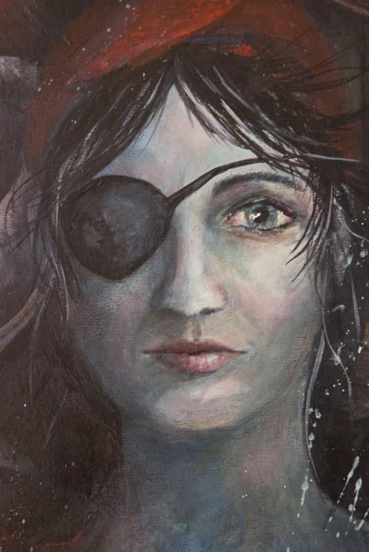 Cirque de la lune Frau