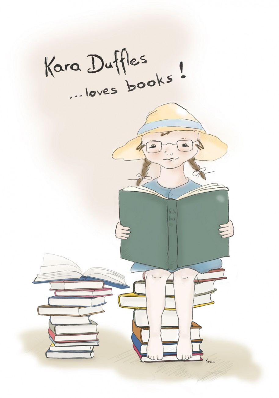 Kara Duffles loves books